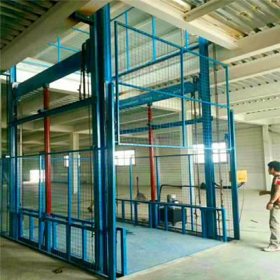 莱芜车间厂房货物提升机 液压升降货梯定做厂家