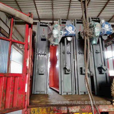 电厂专用插板式隔绝门 电动调节插板式隔绝门 柏润