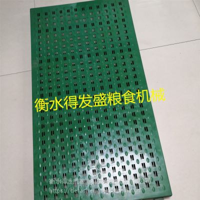专业生产DFS-69型粮库踏粮板 粮食走道板 透气小孔粮面板 塑料过道板 耐磨透气粮面板