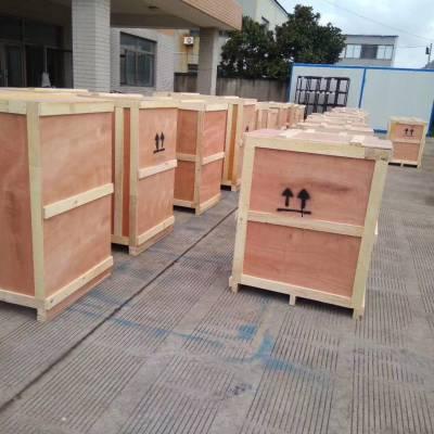 上海木质包装箱,易碎品打包木箱,免熏蒸出口木箱