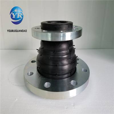 友瑞牌耐酸咸橡胶软接头DN400 KXT型可曲挠橡胶软接头价格