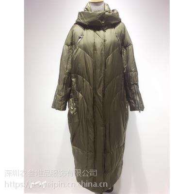 doublefeat个性女装秋冬衣叁唯品折扣走份潮款特卖出货