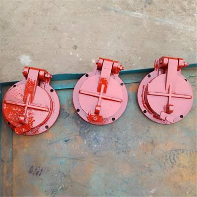 厂家定制平板铸铁拍门型号 dn300圆拍门的类型 质优价廉 可定制