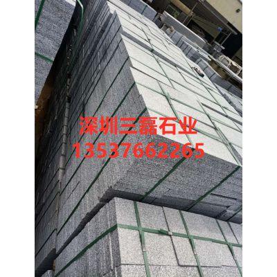芝麻灰石材厂家直销各种各样芝麻灰机切面路边石 路侧石