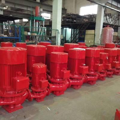 消火栓增压消防泵 XBD6.0/5G-L 7.5KW 不锈钢叶轮轴 江西井冈山市众度泵业