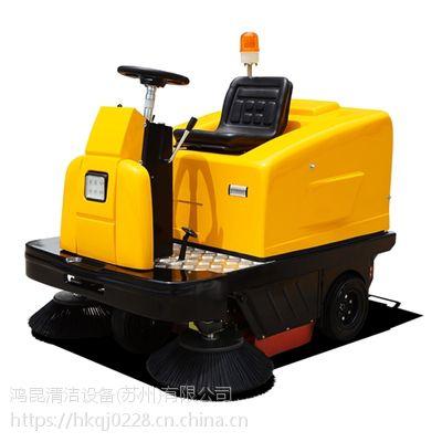 明诺工厂车间清扫灰尘用扫地机MN-C200 大型工业用电瓶扫地车