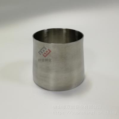 304不锈钢异径管 光面同心大小头102变89