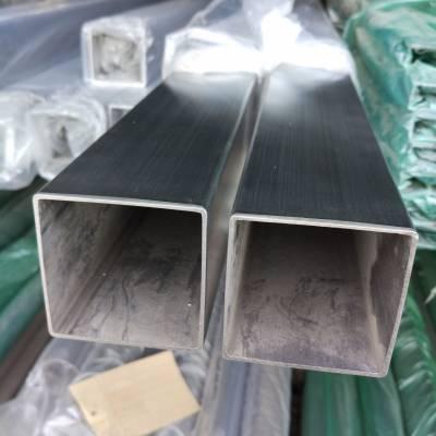 120*120*4.5光面316不锈钢方管焊接厚壁不锈钢管方通扎啤设备用管