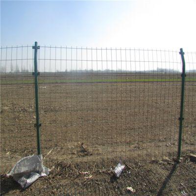 圈地养殖边框隔离防护网 高速公路草绿色护栏网 果园包塑围栏防护网价格
