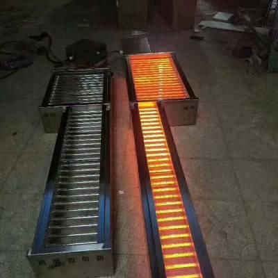 韩式无烟炭烧烤设备 无烟方形烤肉炉 小型无烟木炭烧烤炉