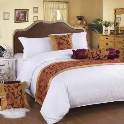 供应北京酒店纯棉贡缎床上用品