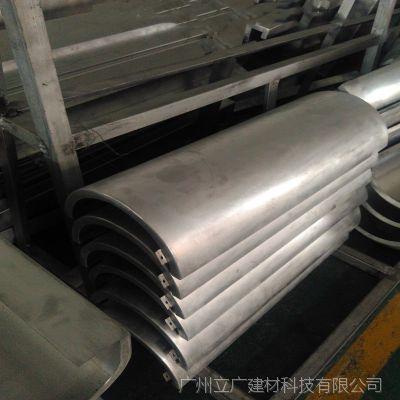 弧形铝单板厂家直销氟碳粉末木纹包柱铝单板酒店专用包柱铝板
