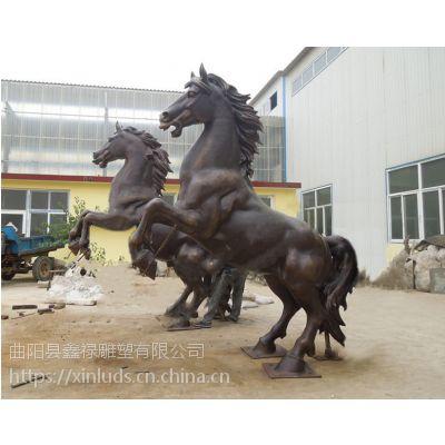 厂家直销 铜马雕塑 大型广场景观摆件 战马 飞马雕塑