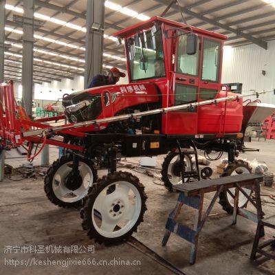 微型四轮旋耕机 云南红河小型耕地拖拉机 开沟施肥打药机 科圣机械