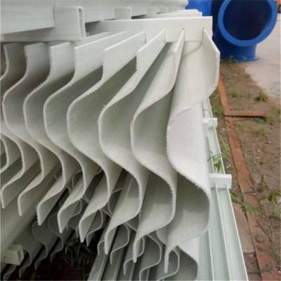 本溪PVC除雾器叶片形式