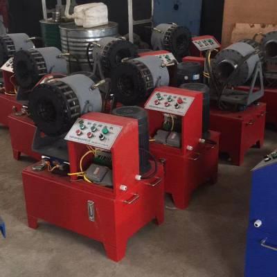 广东汕头液压钢管缩管机 全自动锁管机 建筑工地专用缩管机