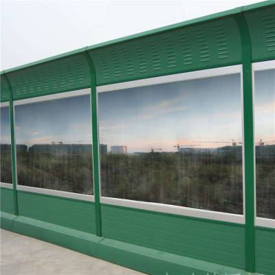 透明亚克力板吸声屏、透明pc板隔音屏、公路直立式屏障