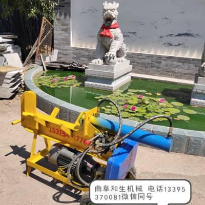 甘肃电动液压劈柴机,大型劈柴机来电咨询