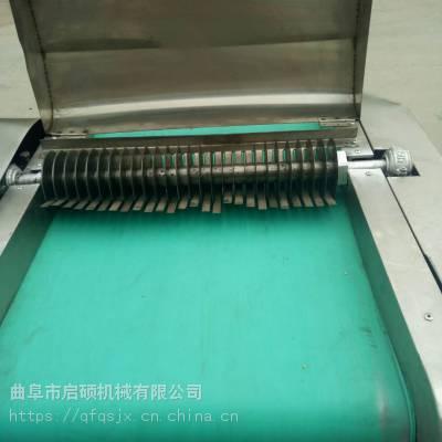 启硕机械生产多功能橙子切片机 胡萝卜切片切丝机 鲜竹笋切片机质保