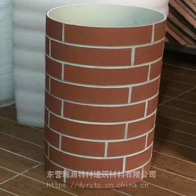 软瓷外墙砖厂家直销 柔性饰面砖条形小砖环保外墙砖无甲醛外墙砖 规格6*24 30*60