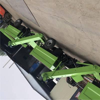 养殖现代化自动清粪车 带自卸的清粪车 小型清粪车视频