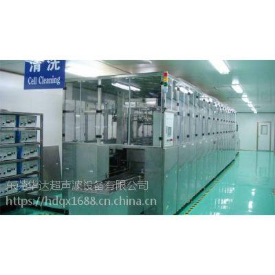 工业用华达全自动机械臂式TFT清洗机光学行业12槽超声波清洗机HD-10192