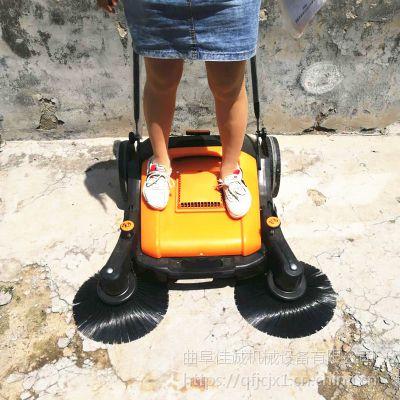 无动力手推式扫地机小型扫地车车间仓库公园医院学校