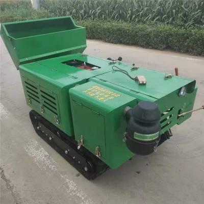 普航多用途旋耕机 履带式开沟施肥机 履带式松土机价格