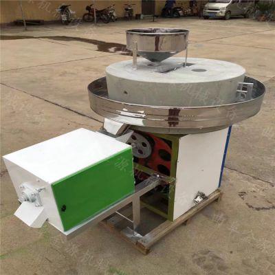 传统老石磨芝麻磨浆机 小型电动石磨磨面机 石磨豆腐机