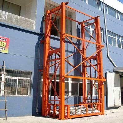 洛阳市导轨升降货梯 液压提升机价格