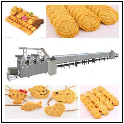 孝感饼干生产线 山东饼干厂家 小食品加工机械 朗正机械