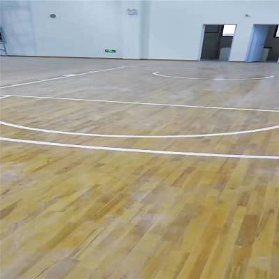 银川中式现代运动木地板做法