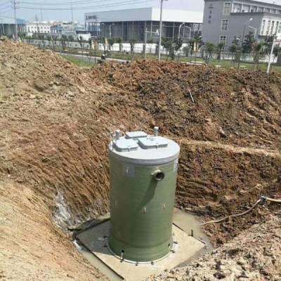 陕西一体化预制泵站-海辰环保-一体化预制泵站生产厂家