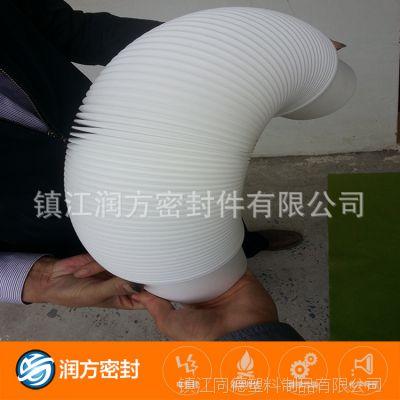 治污管道专用的:聚四氟乙烯PTFE高清洁度波纹连接疏通管 耐腐蚀