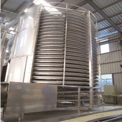 长期供应螺旋式速冻机 小型食品蔬菜类速冻机 双螺旋网带式速冻机