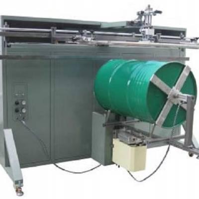 供应1500R不锈钢铁桶丝印机 东莞优远丝网印刷机厂家直销