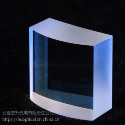 宏升光电 高精度 柱面镜 厂家 平凸柱面镜 弯月柱面镜 平凹柱面镜