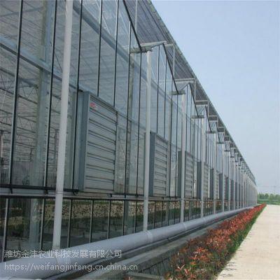 现代化镀锌智能温室大棚 玻璃温室骨架配件厂家