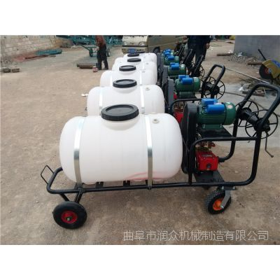 220v电动机消毒车 拉管式高压喷雾器 多功能移动喷雾消毒机