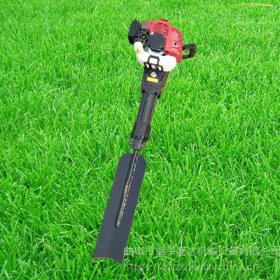 便携式手提挖树机 汽油动力断根挖树机 福泽盛达牌