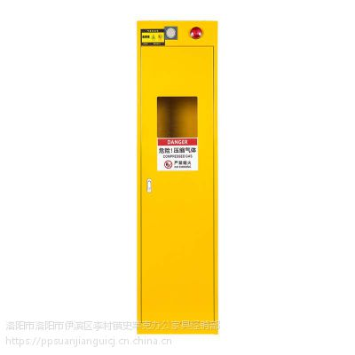 钢制气瓶安全储存柜全钢气瓶柜