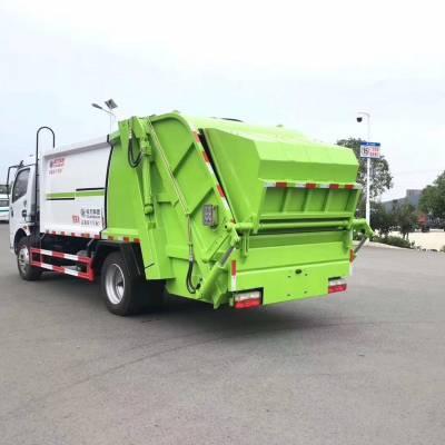后装压缩式垃圾车8吨压缩式垃圾车生产厂家