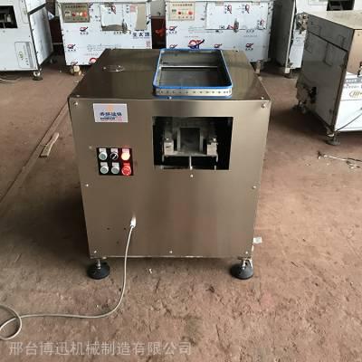 酸菜鱼斜切鱼片机 切鱼片机 水煮鱼切片机 一次成型鱼肉切片机 博迅