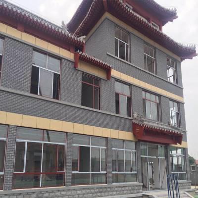 天津砂质软瓷砖楼盘外墙 劈离砖施工效果好 生态环保软瓷外墙劈开砖 柔性仿石