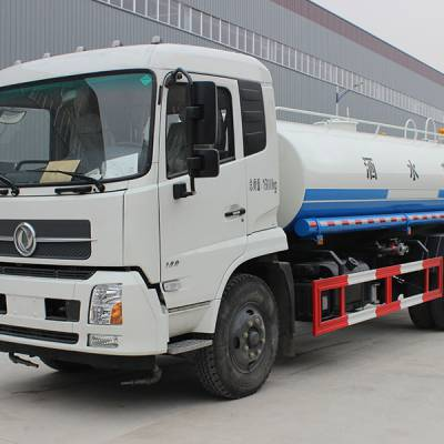 东风天锦14吨绿化洒水车/国六排放/现在什么价格