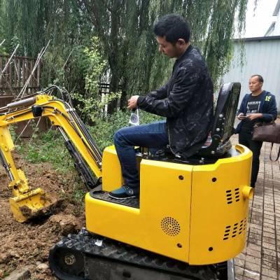 一吨重随车便携式挖掘机 小型挖掘机厂家电话