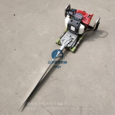 宏德汽油移栽挖树机 栽树植树断根机 小型手提式起树机