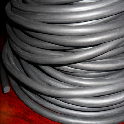 耐腐蚀老化棕色氟橡胶条 电厂用氟橡胶密封条 佰源生产厂家