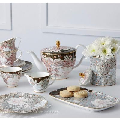 Wedgwood茶具英国骨瓷系列,高档休闲系列
