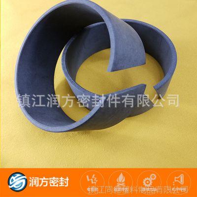 海洋工况环境下作业专用的:塑料王F4填充碳纤维耐磨大小导向环